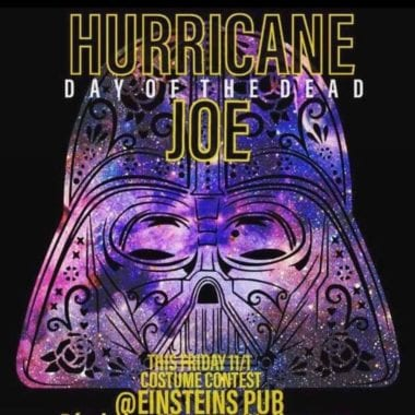 Hurricane Joe band poster